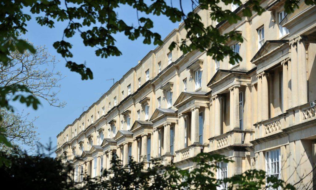 Cheltenham Regency buildings