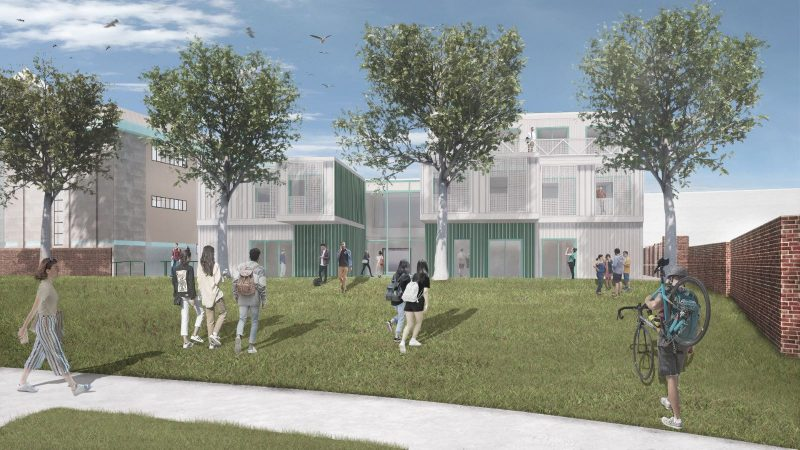Minister Innovation Exchange, Cheltenham. Artists impression