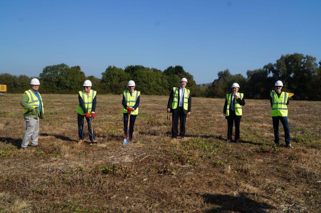 Building work starts at Leckhampton High School