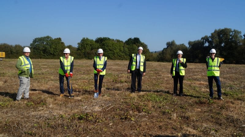 Building work starts at Leckhampton High School