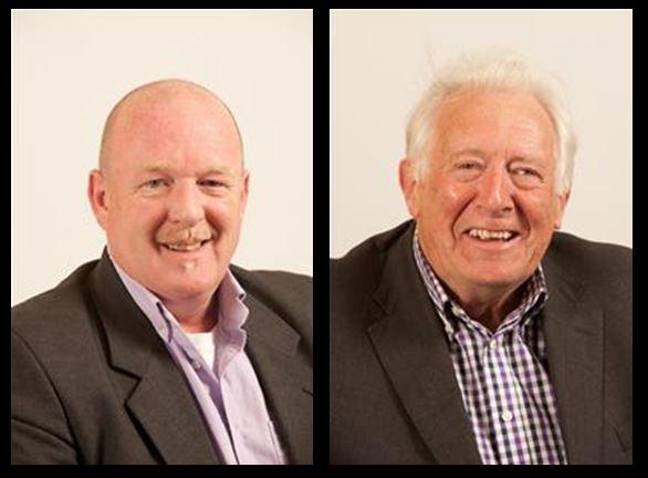 Cllr Patrick Molyneux and Cllr Nigel Moor