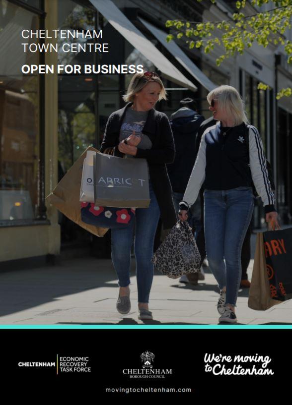 Cheltenham Town Centre - Open for Business