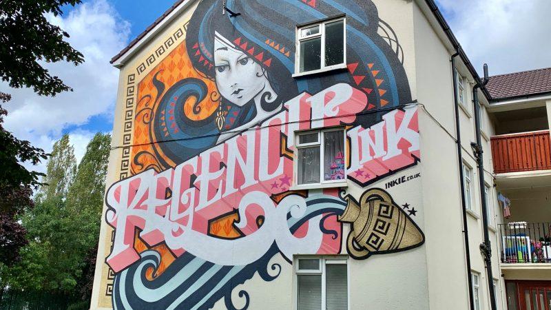 Inkie Cheltenham Paint Festival
