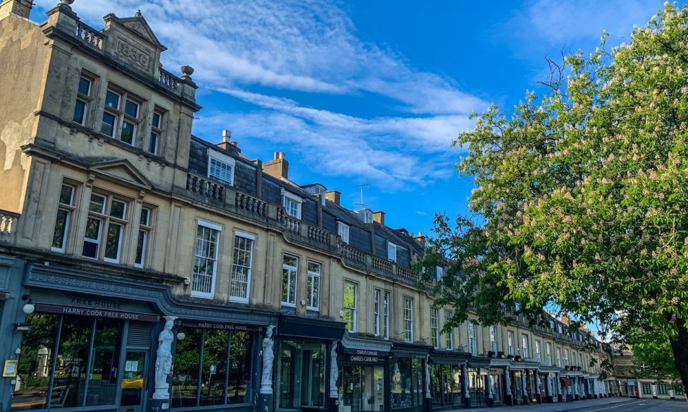 Montpellier shops, Cheltenham