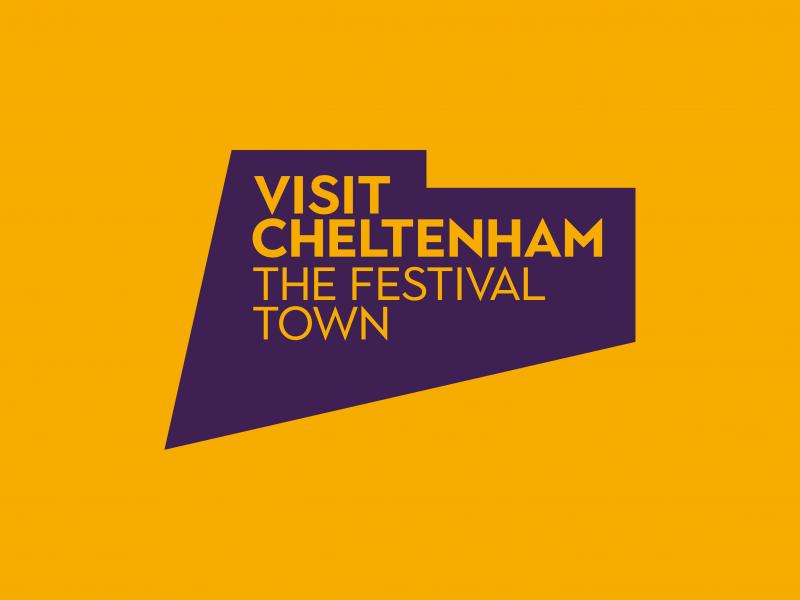 Visit Cheltenham - festival town logo